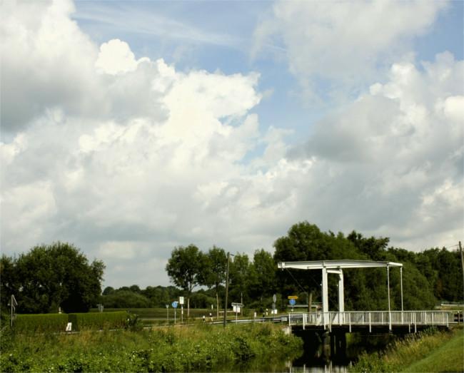 Klappbrücke bei Augustfehn
