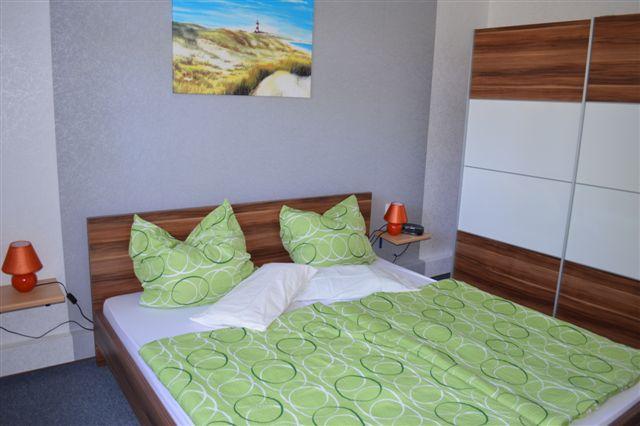Schlafzimmer 1 Augustfehn Ferienhaus